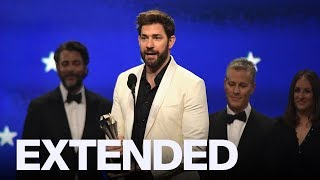 John Krasinski Doesn't Feel Pressure For 'A Quiet Place 2' | CRITICS' CHOICE