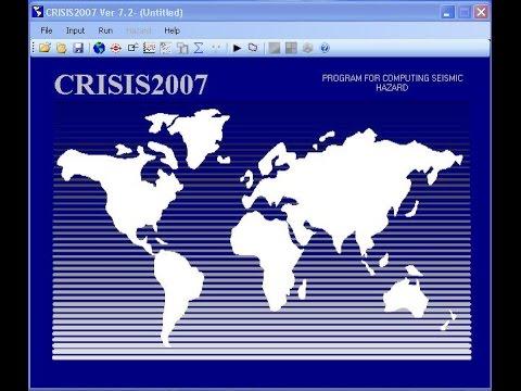Seismic Risk Assessment (CRISIS2007)