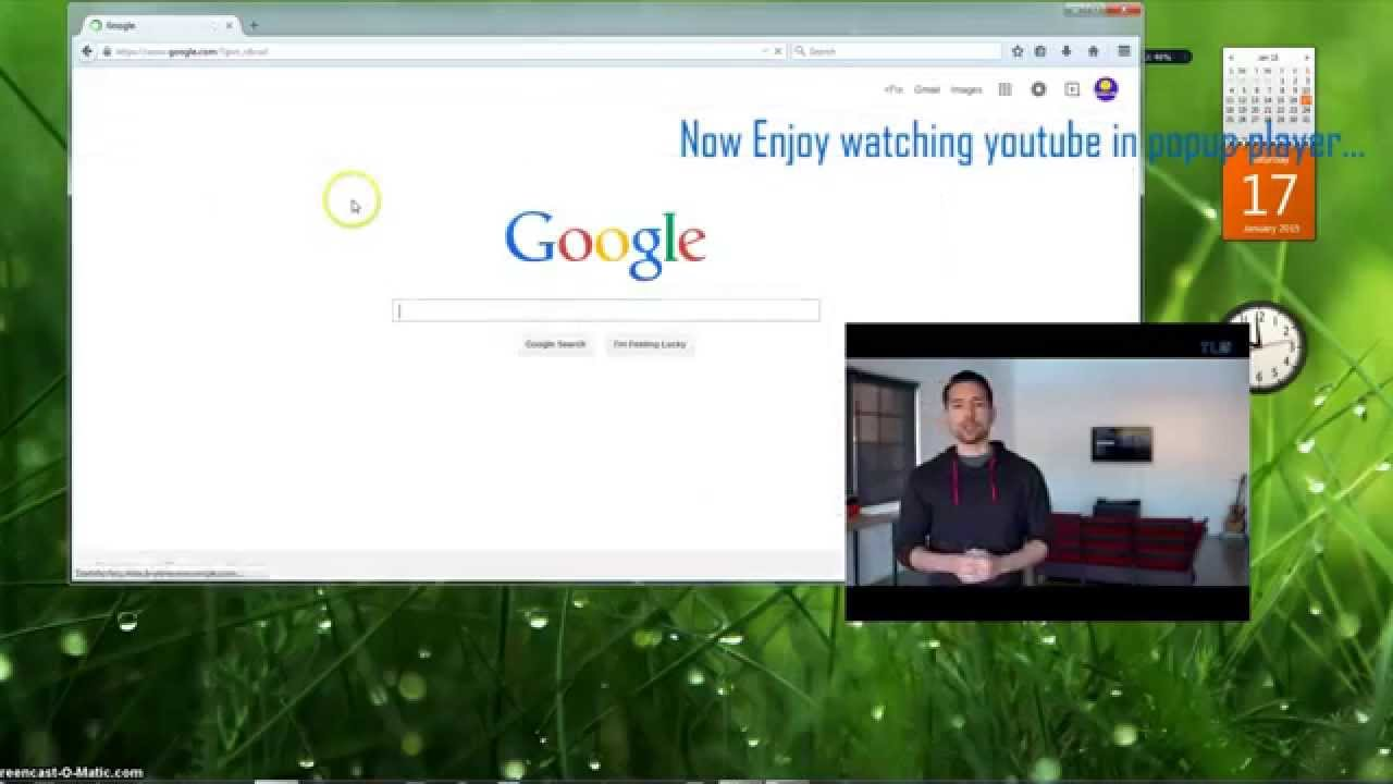 How to watch youtube videos in floating pop up window for Popup house youtube