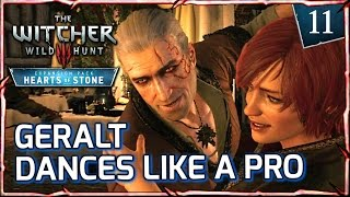 Witcher 3: HEARTS OF STONE ► Geralt Dances like a Pro with Shani #11