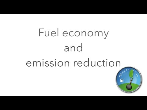How to save 20% of fuel and reduce emission of toxic gases