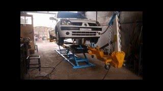 Стапель для кузовного ремонту