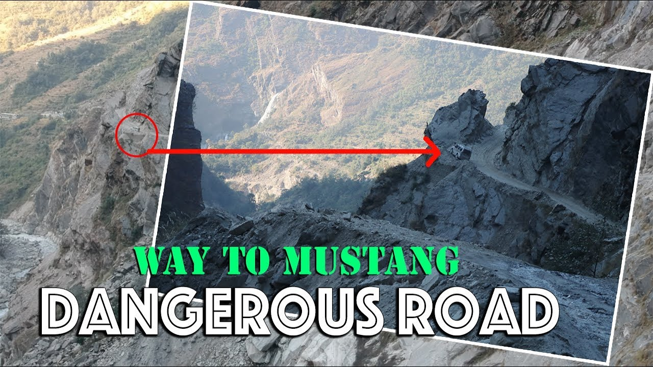 Download The most dangerous road in nepal l Beni-Jomsom-Mustang Road l मुस्ताङ जाने सडक ।