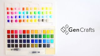 Gencrafts  Watercolor Palette Review