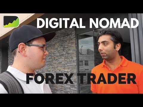 Hanging Out With A Digital Nomad Forex Trader | Bangkok Forex Trading Vlog