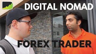 Hanging Out With A Digital Nomad Forex Trader | Bangkok Forex Trading Vlog
