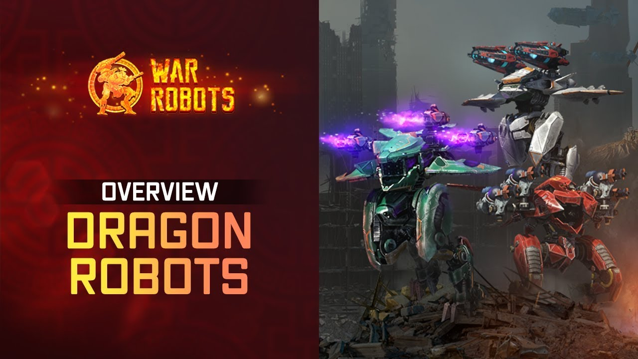 War Robots Overview: New Flying Robots Ao Jun Ao Guang Ao Qin | WR Dragons