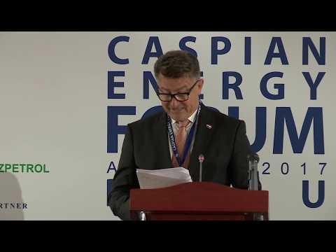 Refik Šabanović - 4-th Caspian Energy Forum - Baku 2017