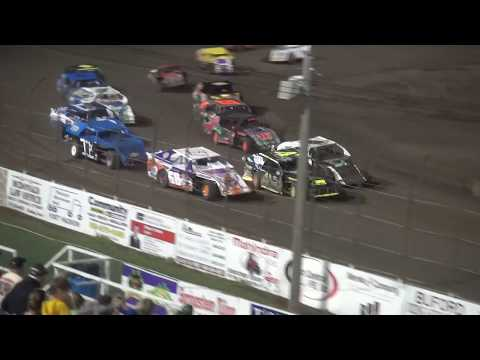 Night 2 Fall Extravaganza 2017 Sport Mod feature Lee County Speedway 10/8/17