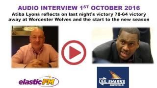 Atiba Lyons talks to David Lilley
