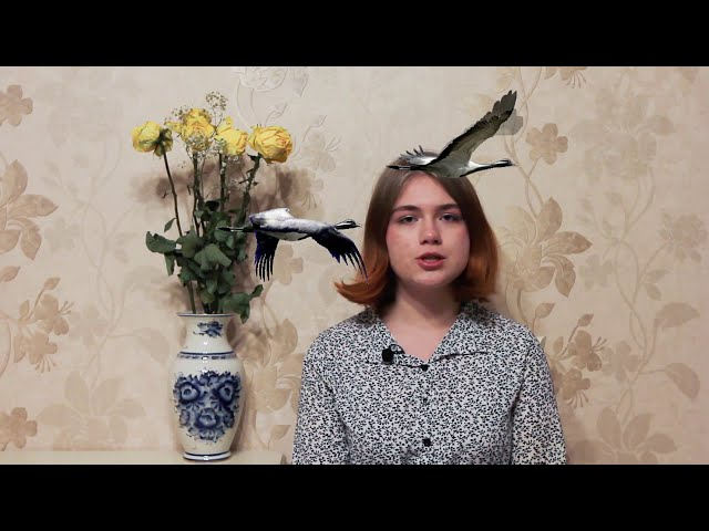 Изображение предпросмотра прочтения – ЕкатеринаАндреева читает произведение «Отговорила роща золотая» С.А.Есенина