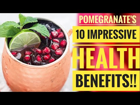10 Impressive Health Benefits of Pomegranate!! Must Know Before You Eat!!||
