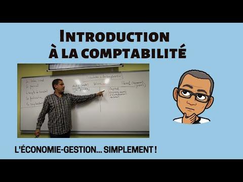 INTRODUCTION A LA COMPTABILITÉ - IUT DU CREUSOT (DUT TC)
