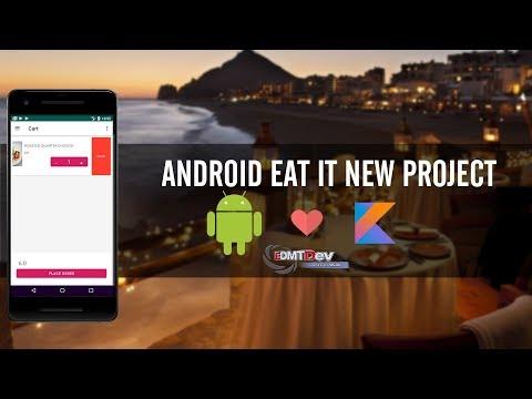 Android Development Tutorial - New Eat It part 17 Delete Cart Item thumbnail
