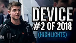 device - 2nd Best Player In The World - HLTV.org's #2 Of 2018 (CS:GO)