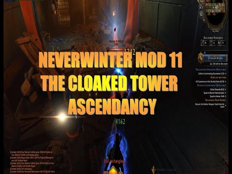 Neverwinter MOD 11 The Cloaked Ascendancy-River District