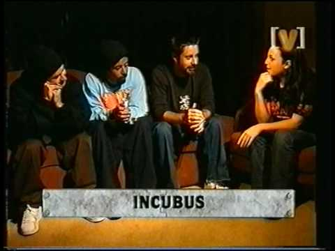 Incubus - Heavy Shift Interview (Channel [V], 2001) Part 3