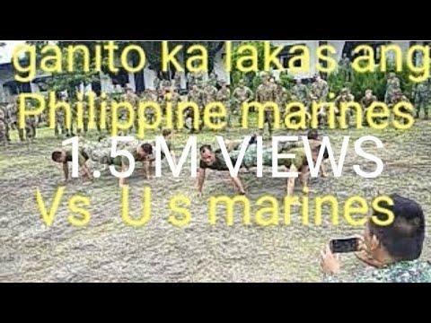 Tinalo ng Philippine marine's ang U S Marines sa palakasan