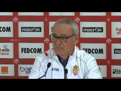 "Claudio Ranieri: ""Nur Monaco ist wichtig"" | AS Saint-Etienne - AS Monaco"