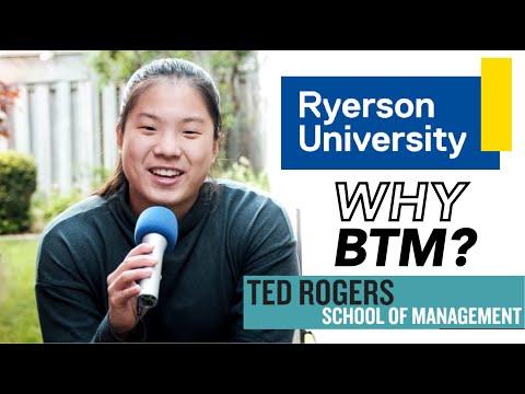 WHY RYERSON BTM?