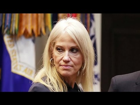 Report: White House banned Kellyanne Conway from doing TV