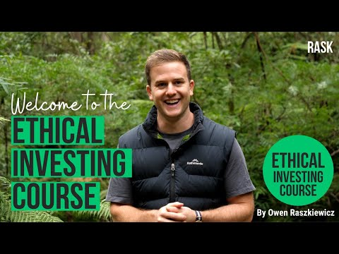The Rask ethical investing course: what you'll learn   Rask