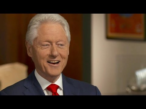 Bill Clinton addresses Hillary Clinton's health