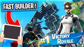 PRO Fortnite Mobile Player! #1 Solo Showdown Winner! Android + iOS Fortnite Gameplay! Touchscreen !