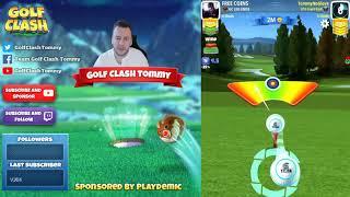 Golf Clash tips, Playthrough, Hole 1-9 - PRO & EXPERT - Winter Slopes Tournament!