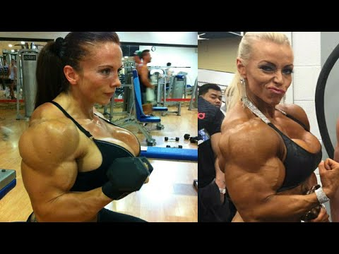 FEMALE BODYBUILDING,- MICHIE PEACHIE  IFBB PRO, FITNESS MODEL, GYM WORKOUT,