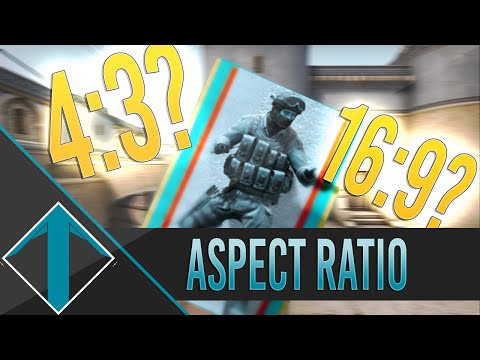 CS:GO Aspect ratio, 4:3 Why?