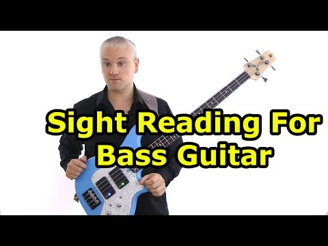 Sight Reading Music For Bass Guitar