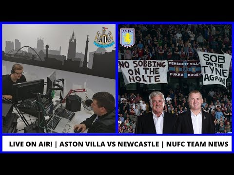 LIVE ON AIR | Aston Villa Vs Newcastle United Preview | NUFC News | Worst XI