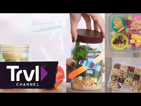 5 TSA-Approved Snacks Travel Channel