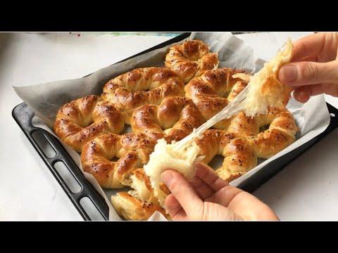 Puf Puf Kolay Pastane Açması ✅ Sade Ve Kaşar Peynirli👌🏼