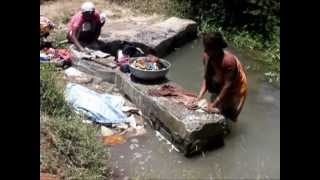 Thumbnail 1:19 Open Water Project - Female washing clothes in Gujarat, India  pt.2