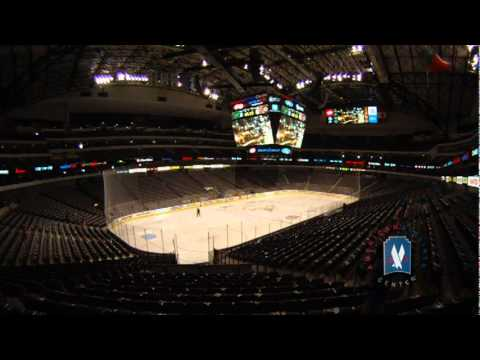 American Airlines Center Changeover