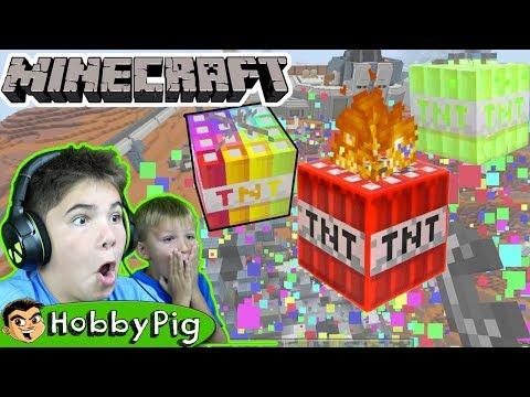 Minecraft TNT Mod By HobbyPig