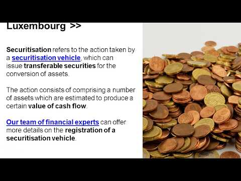 Securitisation Funds in Luxembourg