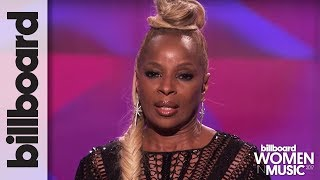 Mary J Blige Accepts Icon Award & Vows to Fight For Every Woman at Billboard