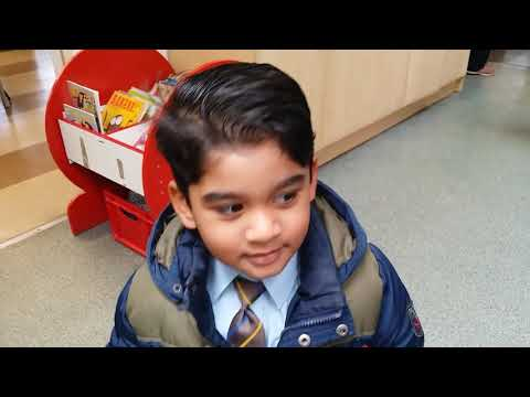 Moses first day at Reception school -Full time education(2)