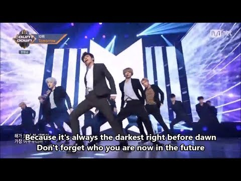 TOMORROW - BTS (방탄소년단) - @ BTS Countdown (2017) [ENG / FR / THAI SUB]