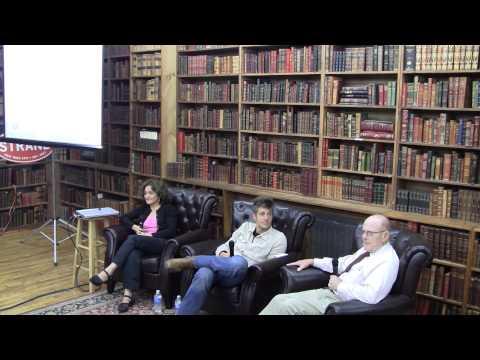Vivenne Roumani, Jason Merkoski & Strand's Fred Bass discuss the future of books.