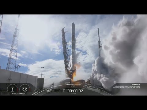 SpaceX Falcon 9 Successfully Launches CRS-18