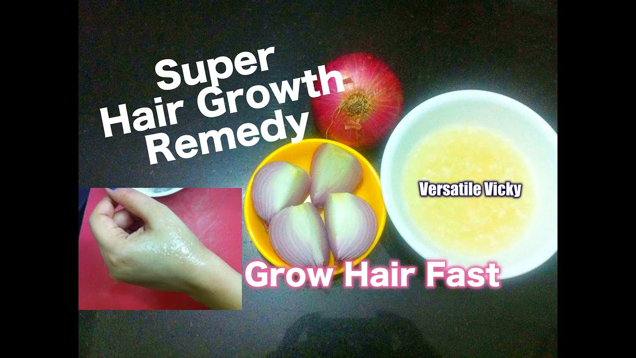 Hair Growth Remedy Onion Juice For Grey You