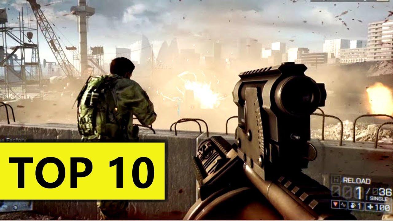 Top 10 Juegos De Disparos Y Guerra Para Android Mejores Shooters