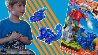 MEGA BLOKS SKYLANDERS BLUE BASH UNBOXING - Headless Bash and Girl Slam Bam