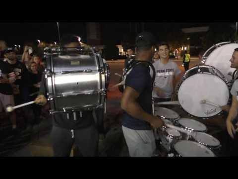New Penn State drumline: Saquon Barkley, Brandon Bell, and Jason Cabinda