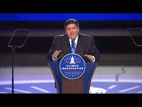 Gov. JB Pritzker delivers inaugural address
