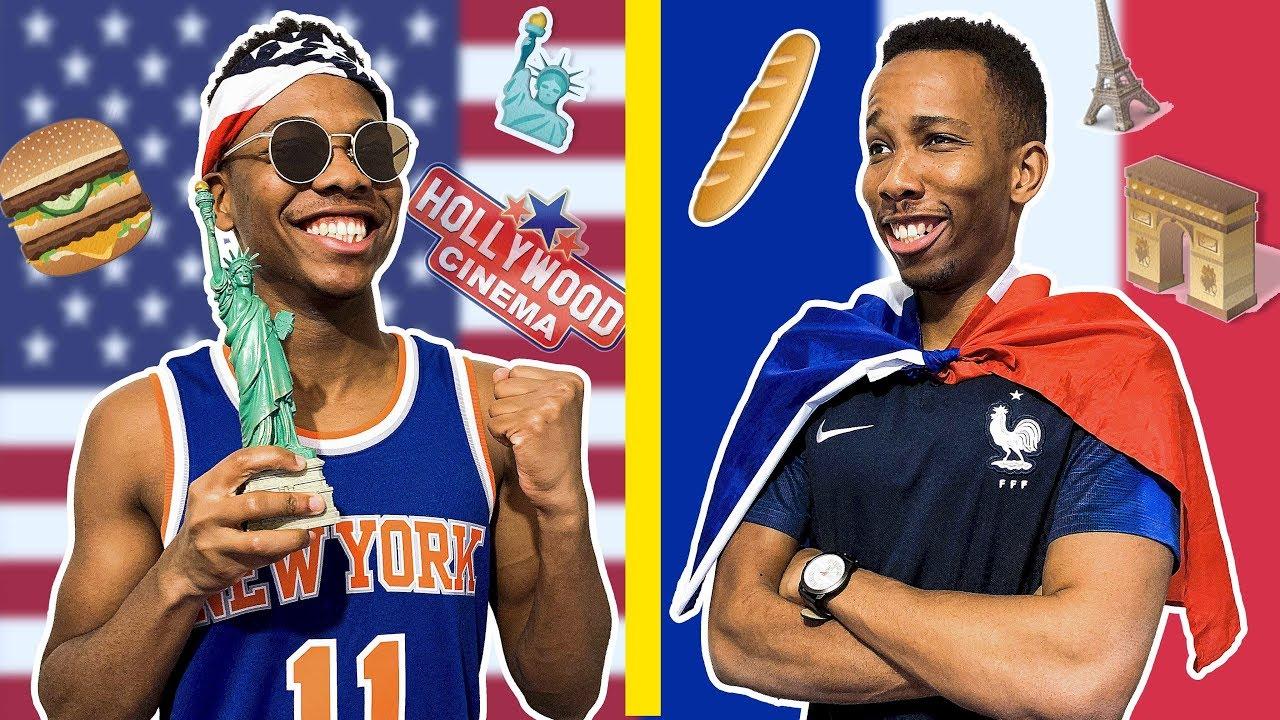 USA VS FRANCE 2  - LES PARODIE BROS
